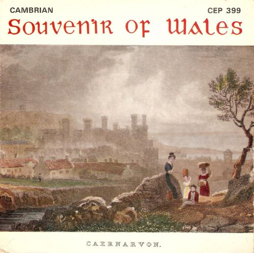 JOHN GLYN WILLIAMS Souvenir Of Wales EP Vinyl Record 7 Inch Cambrian 1967